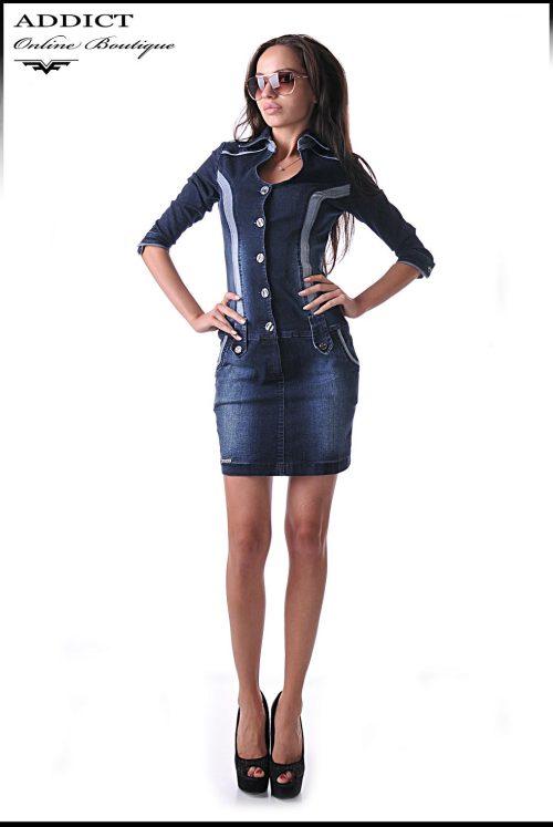 дънкова рокля KANDY