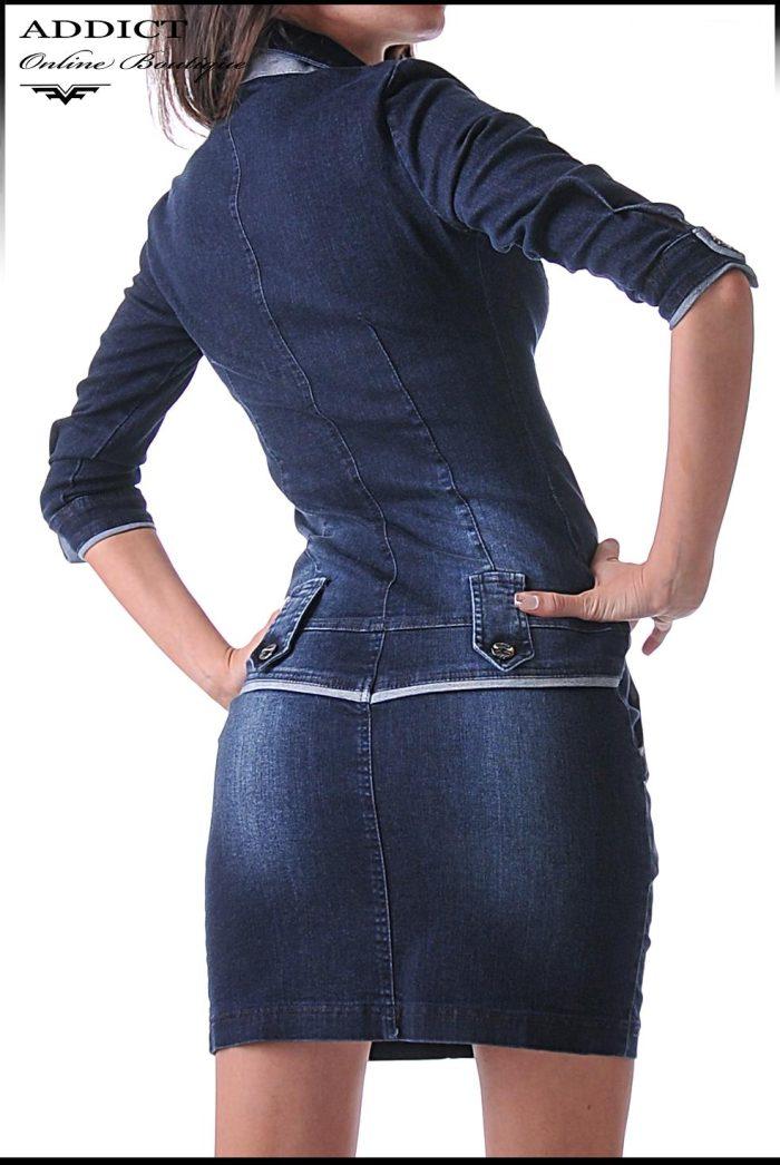 дънкова рокля KANDY DRESS 3