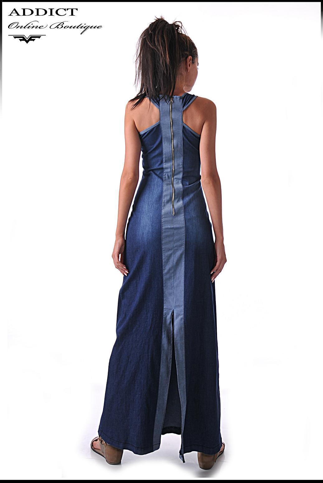 лятна дънкова рокля BENITO 3