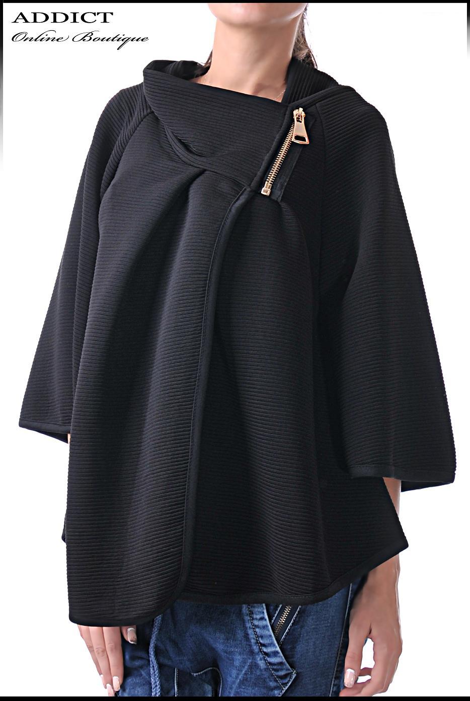 туника overcoat black 3 бутикова