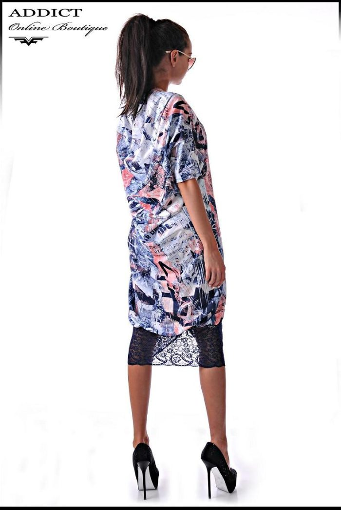 рокля Kassy graffity