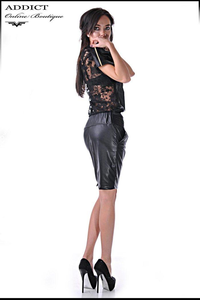 Черна рокля MORGAN 1 2