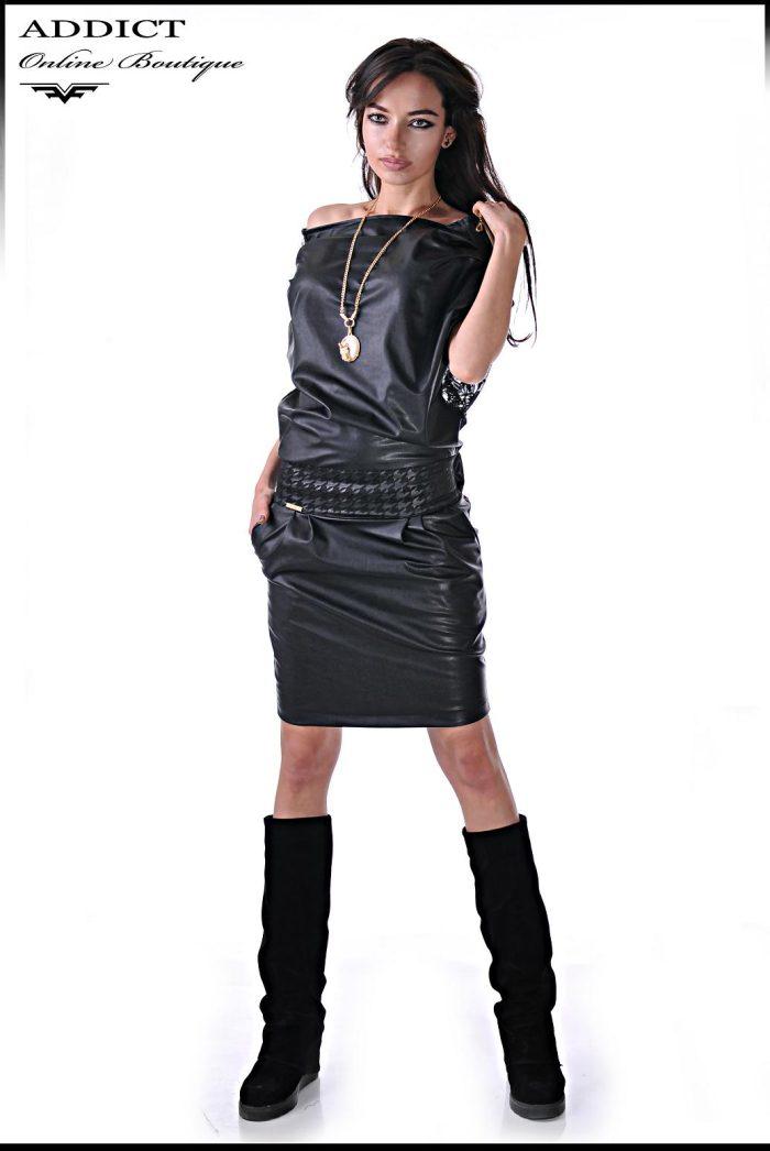 Черна рокля MORGAN 1 5