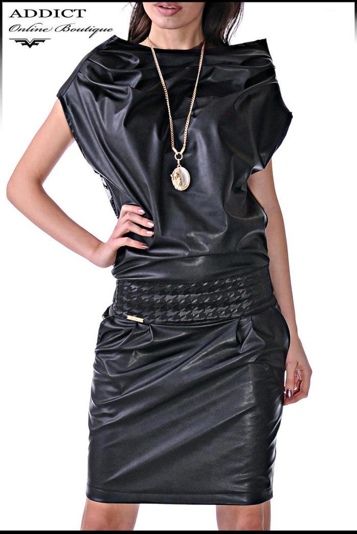 Черна рокля MORGAN 1 3
