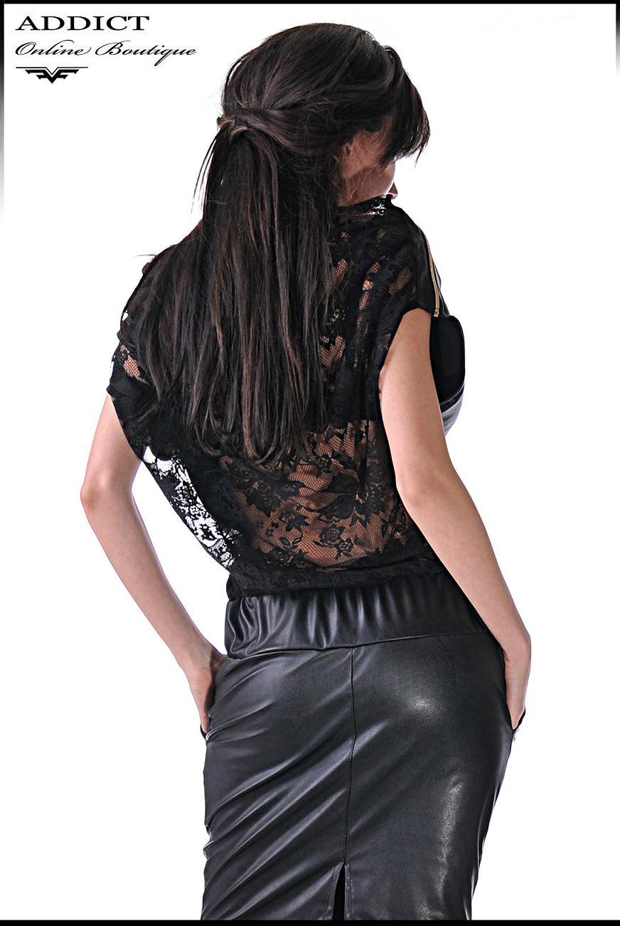 Черна рокля MORGAN 1