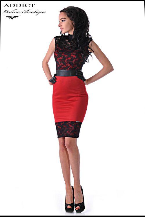 червена рокля marchela 2 red