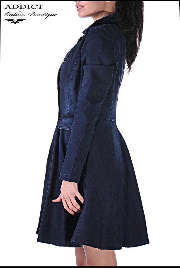 Двънково манто DENIM COAT 2