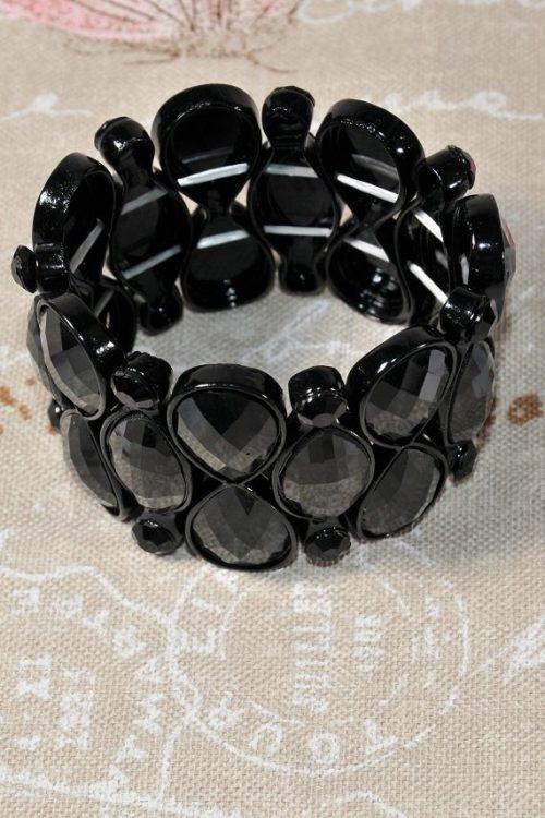колие necklace black 123 6