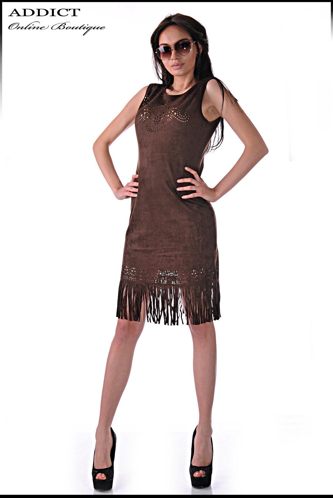 Рокля BROWN DRESS