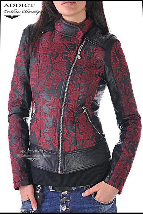 спортно червено яке