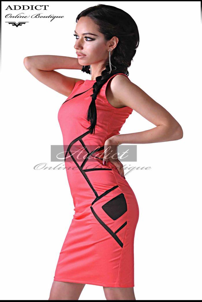 лятна розова рокля lyatna rozova roklya