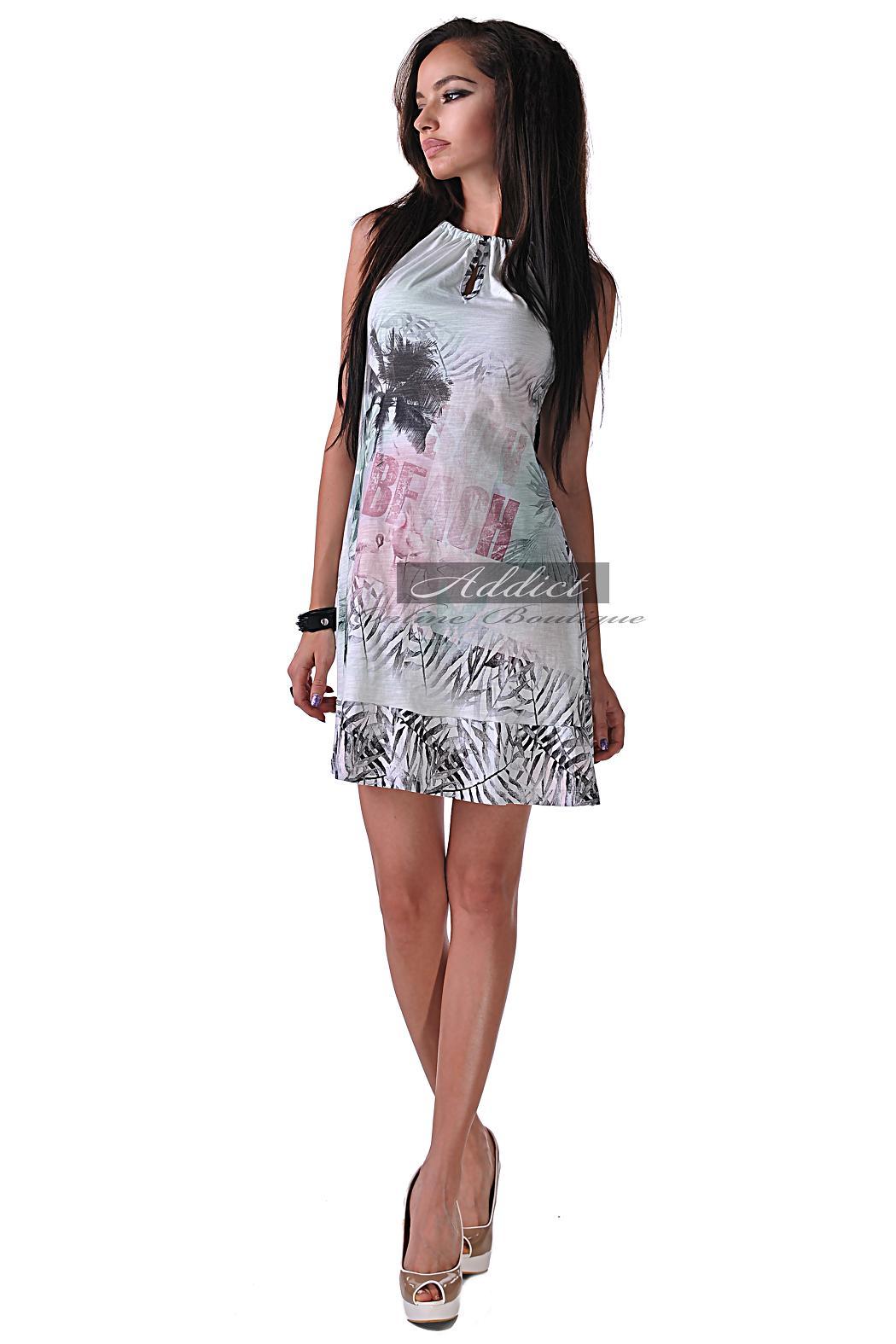 лятна памучна рокля ибиза
