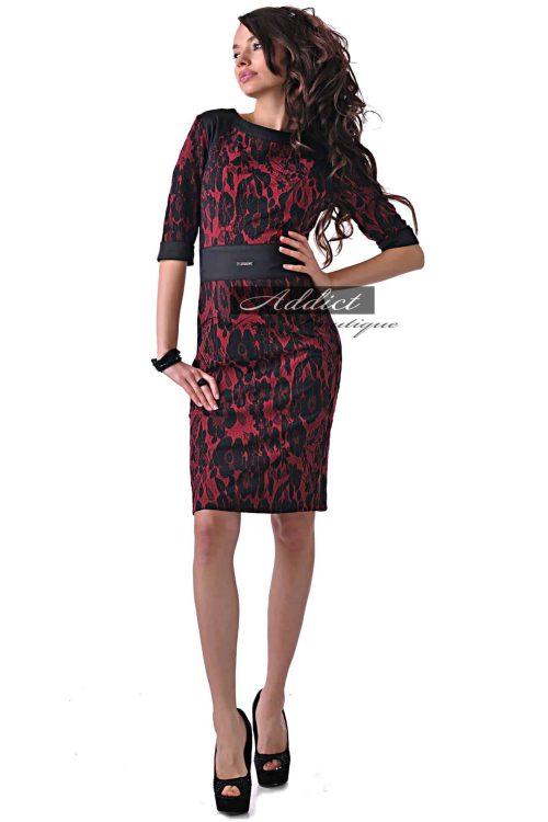 рокля от жакард адикт бутик