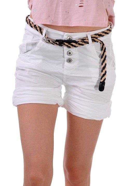 къси панталонки бяло