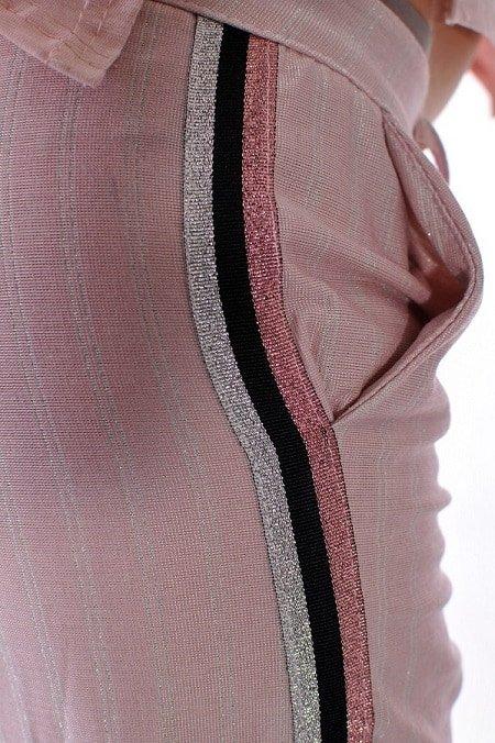 pantalon eleganten kant