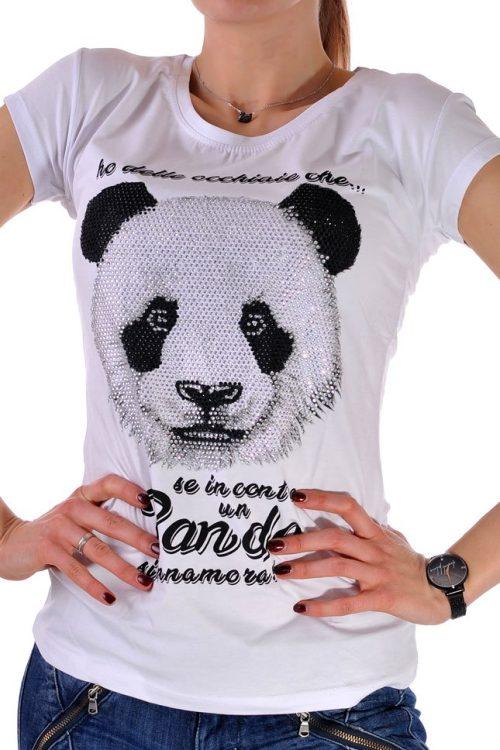 тениска бяла дамска