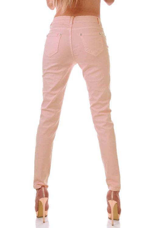 розови дънки с перли адикт