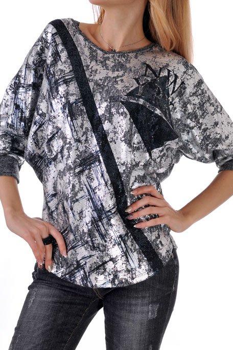 дамска блуза 3/4 ръкав