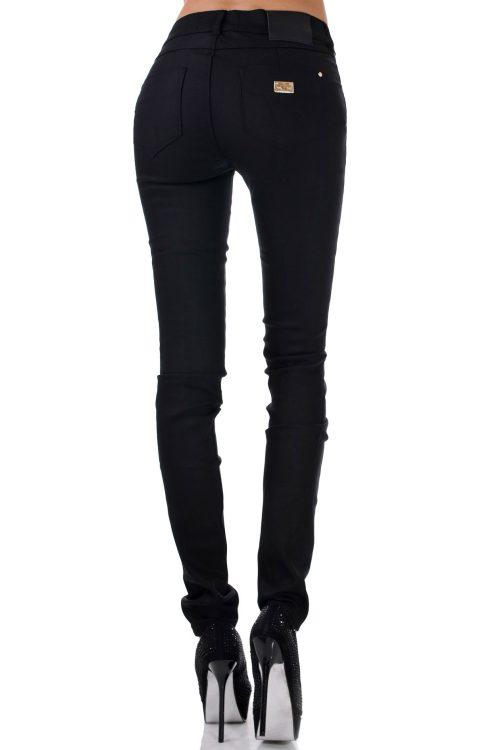 дамски панталон черен тесен