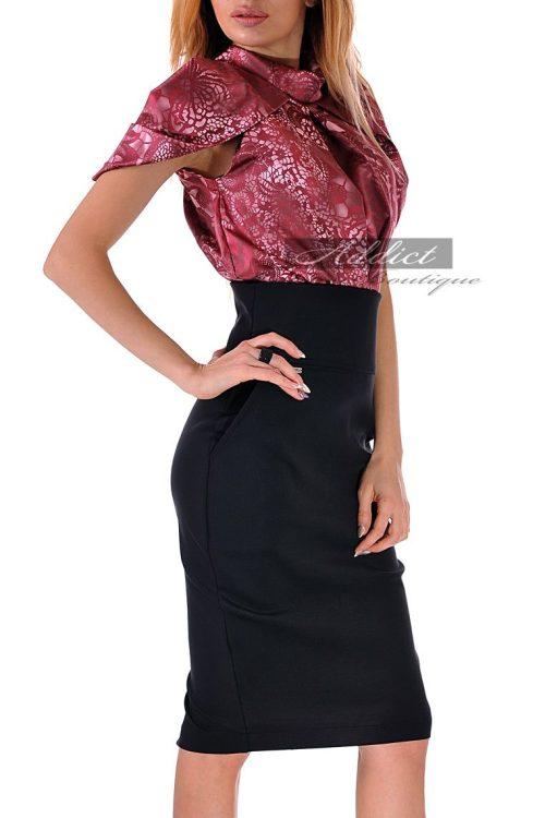 рокля от две части