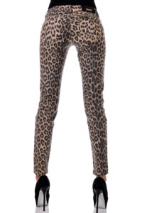 панталон леопард по тялото