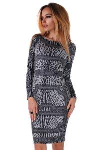 леопардова рокля