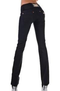 дамски панталон черен широк
