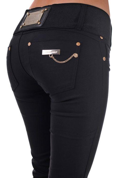 дамски панталон черен чарлстон