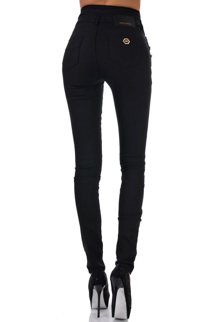 дамски панталон висока талия