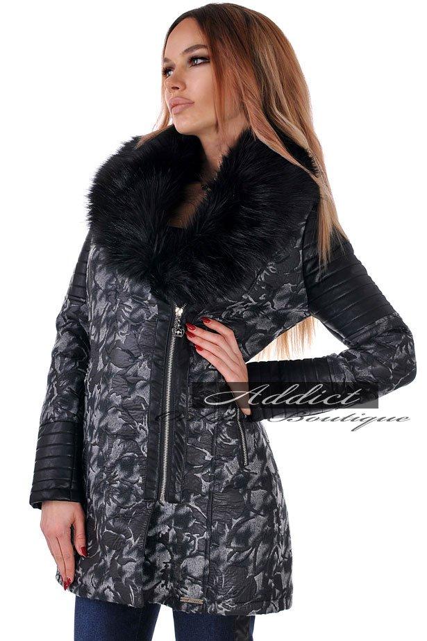 дамско палто зимно елегантно