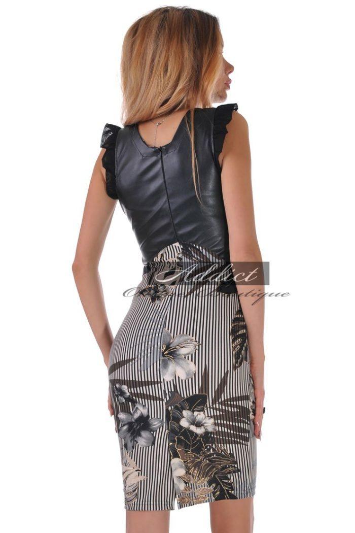 рокля вталена българска