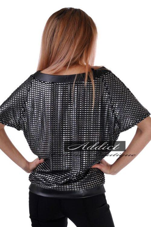 бг.блуза адикт блузон черна