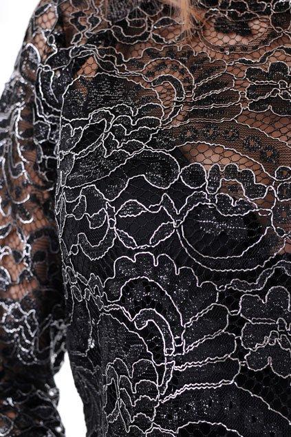блуза дамска черна бг.