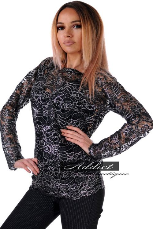 блуза от дантела българска