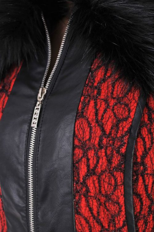 балгарско палто бг адикт червено