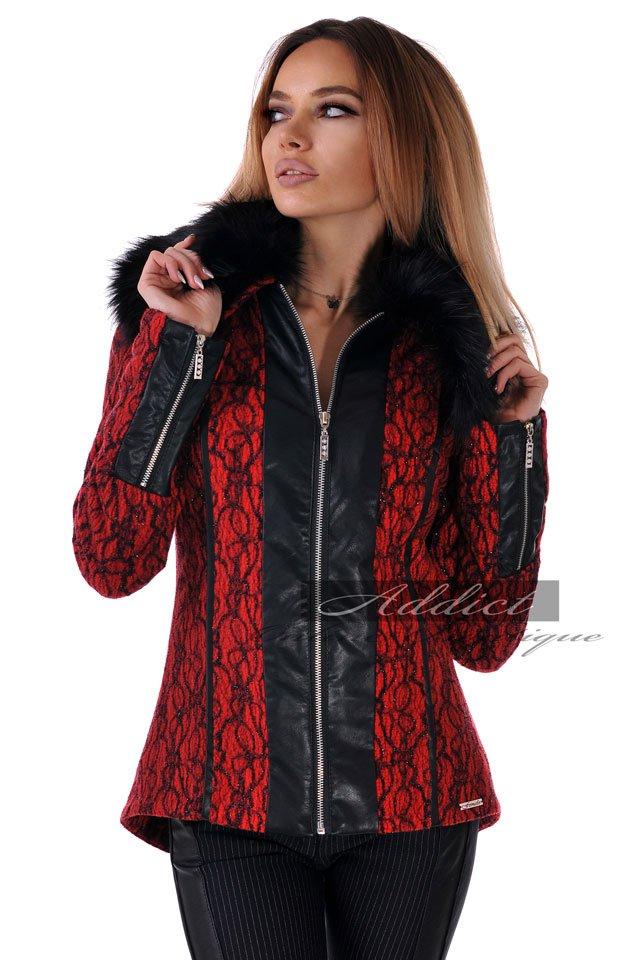 палто червено българско