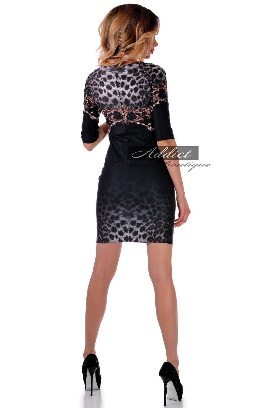 черна рокля адикт