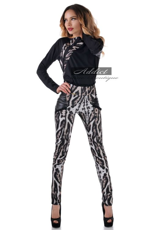 леопардож панталон