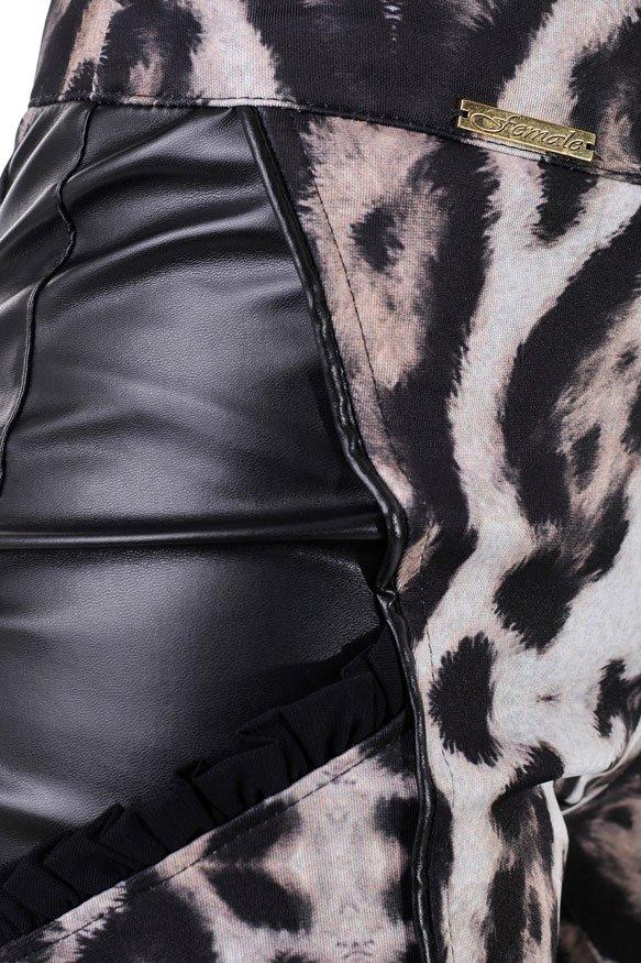 панталон дамски висока талия