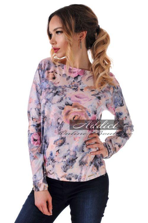 дамска блуза на рози