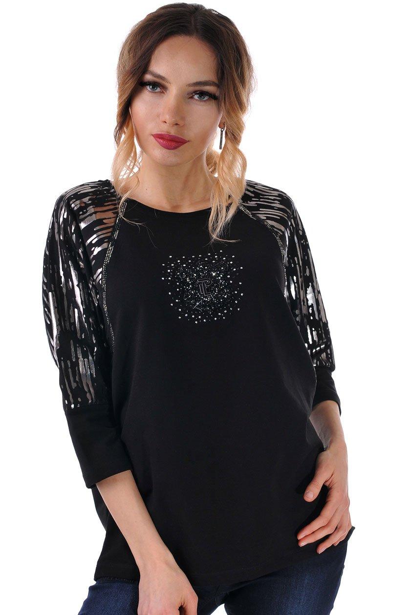 блуза дамска черна