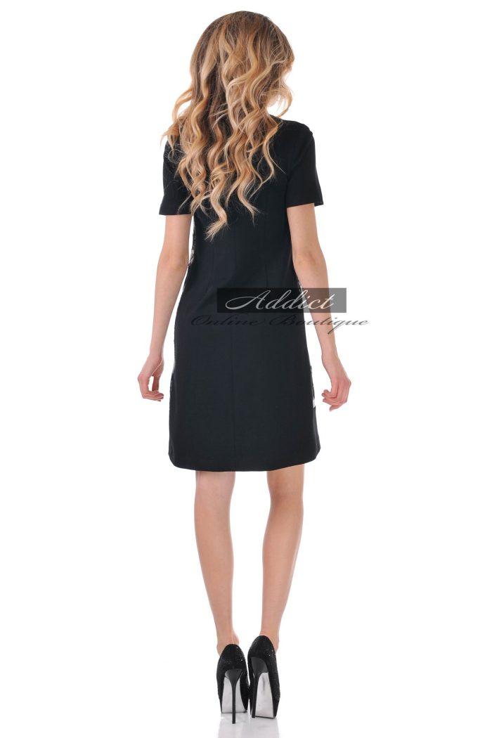 рокля черно и бяло