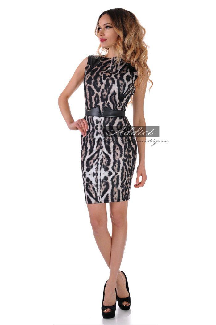 българска леопардова рокля