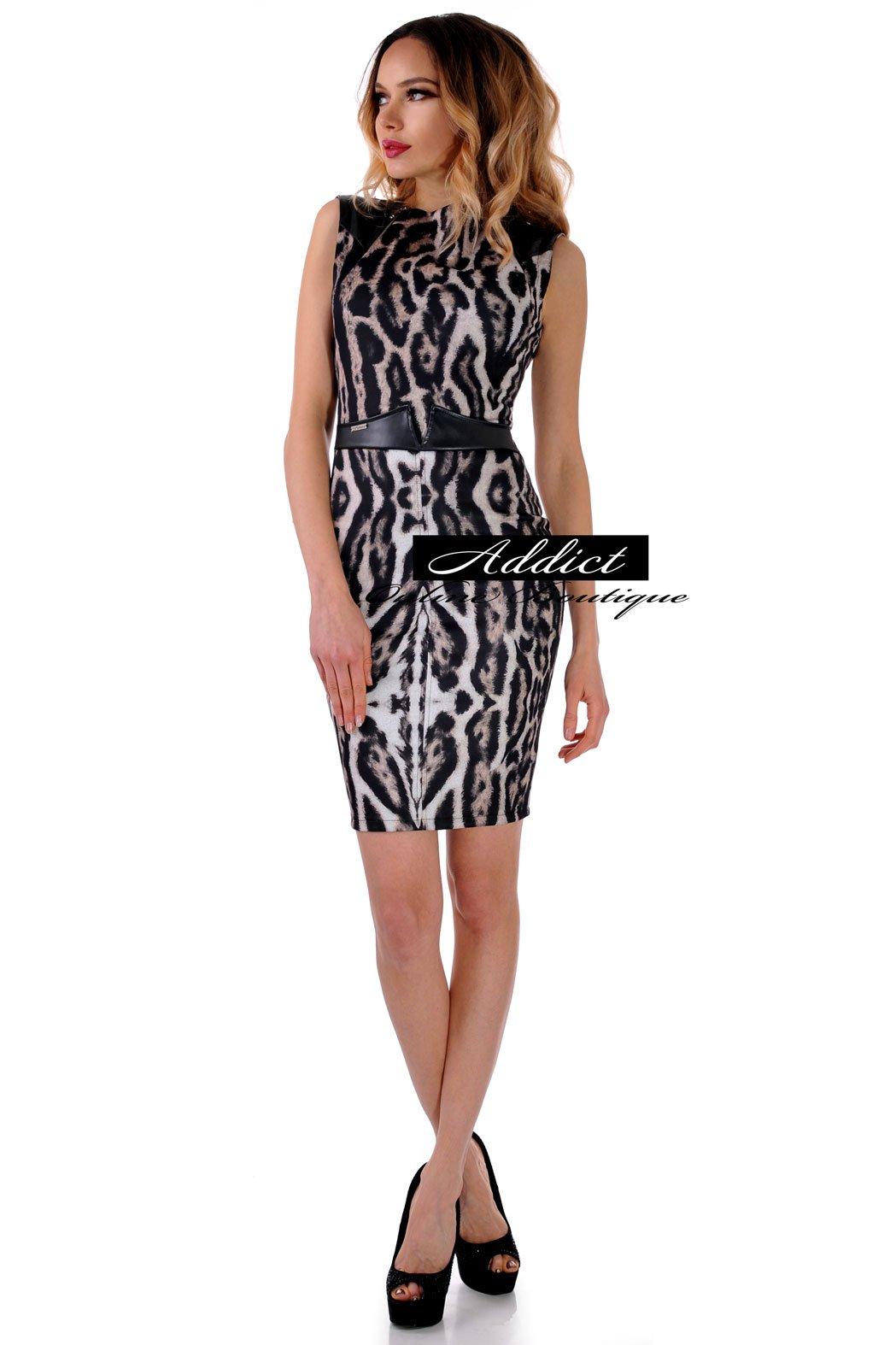 рокля от леопардова метерия българска бг адикт