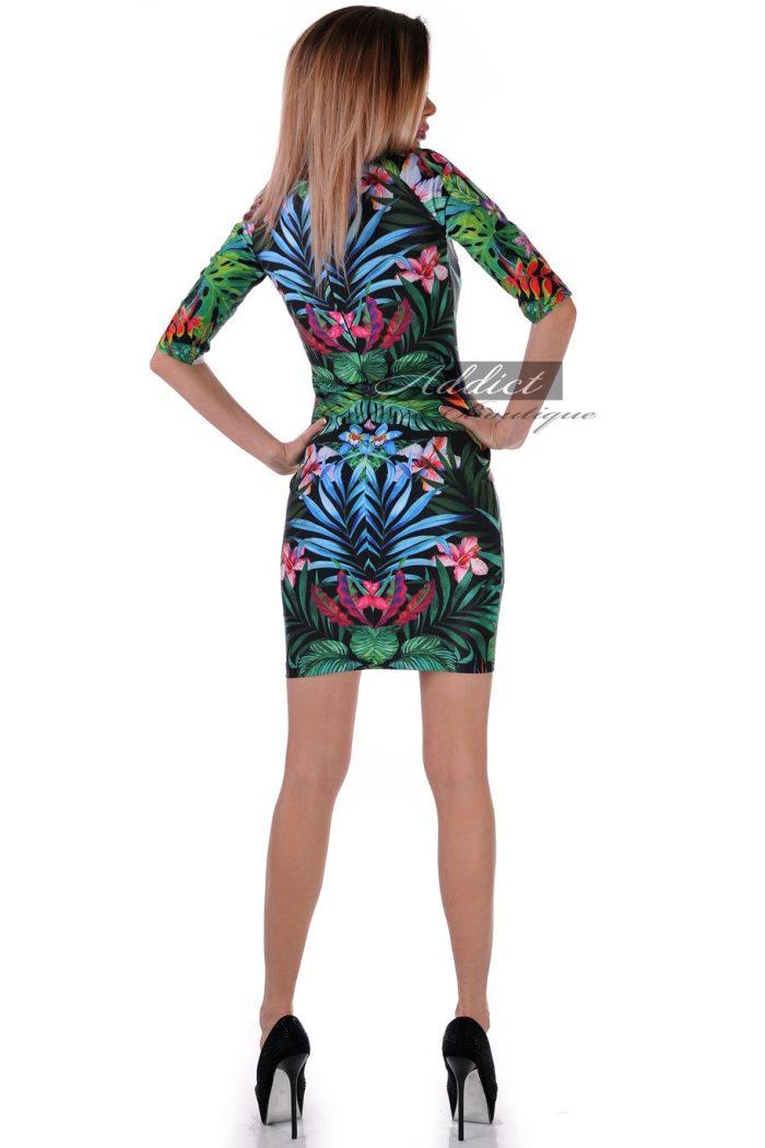рокля шарена българска