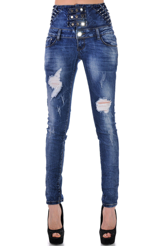 дамски сини дънки