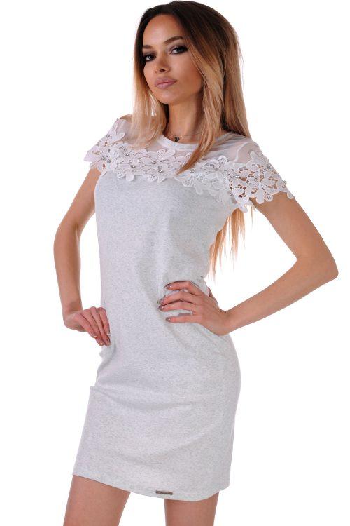бяла рокля къса българска