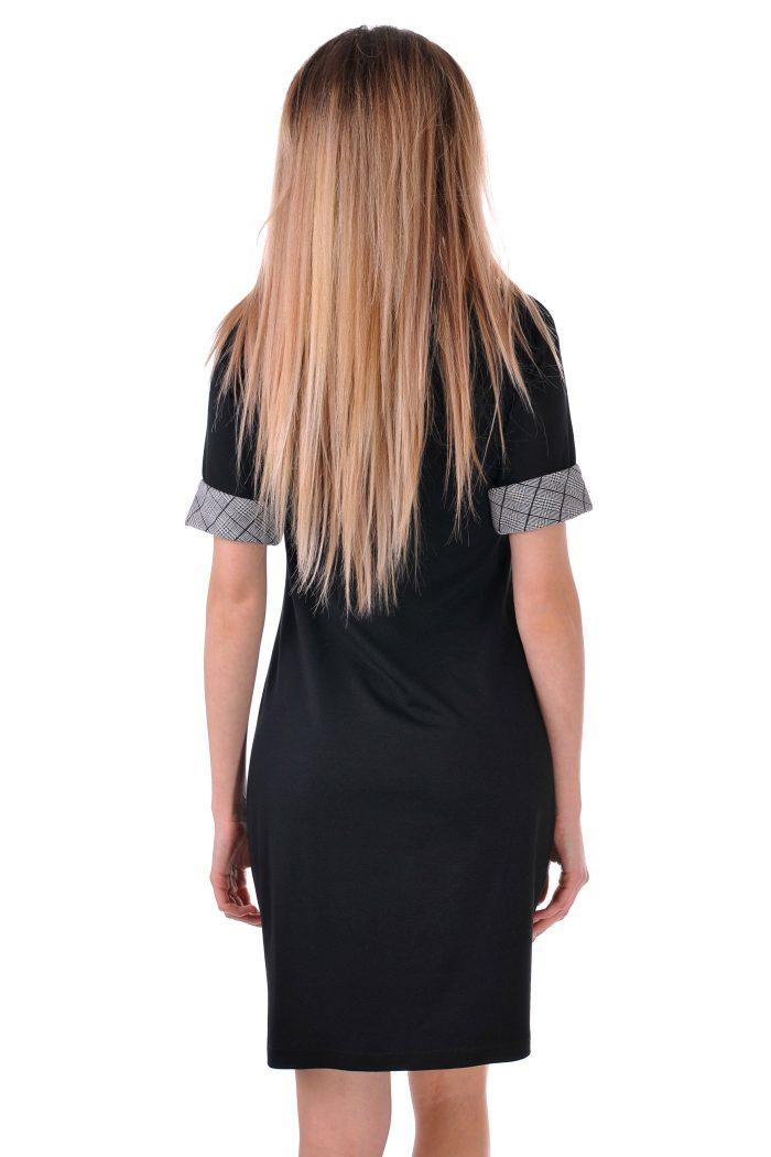 рокля с машети от каре