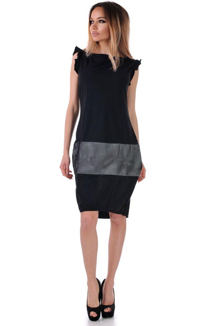 бг рокля лятна черна
