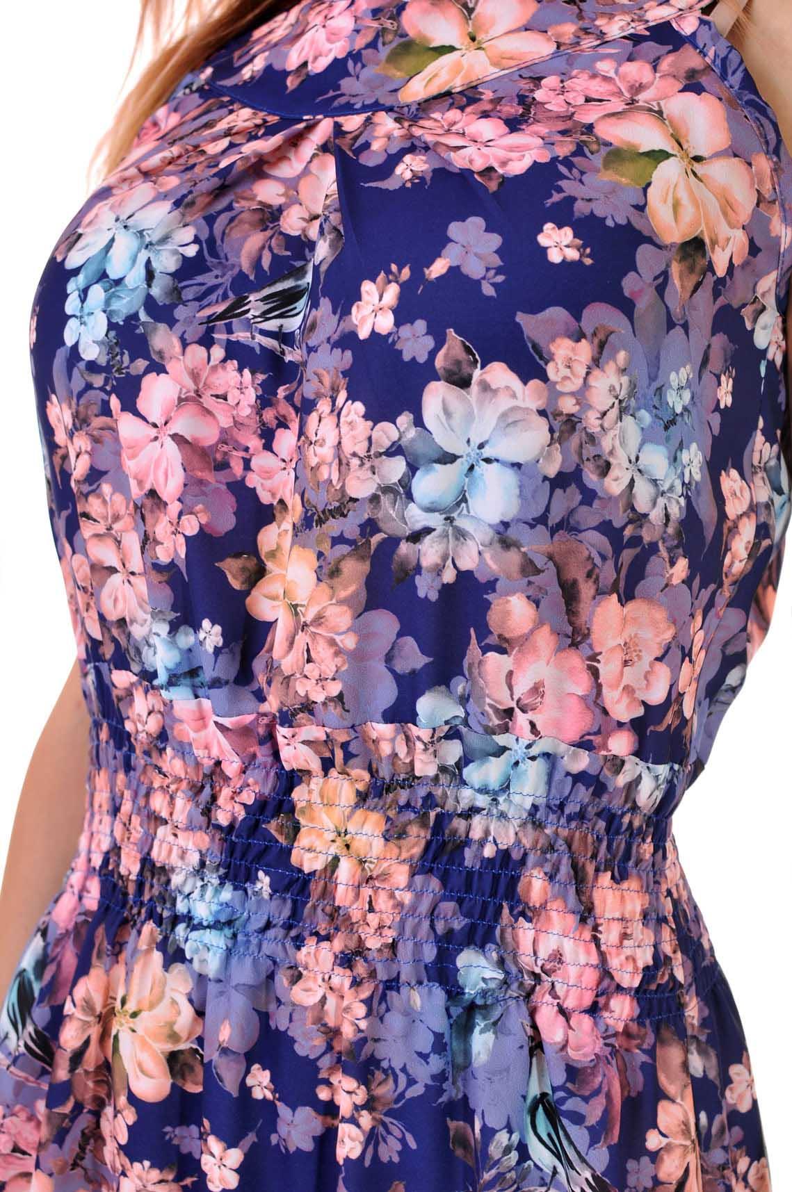 лятна дълга цветна рокля